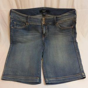Torrid Bermuda Jean Shorts 20W